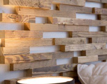 WWD, Expo, interieur, houten panelen