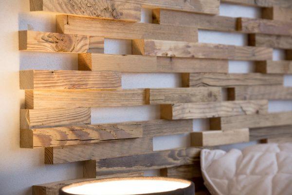 WWD, expo, houten panelen, interieur
