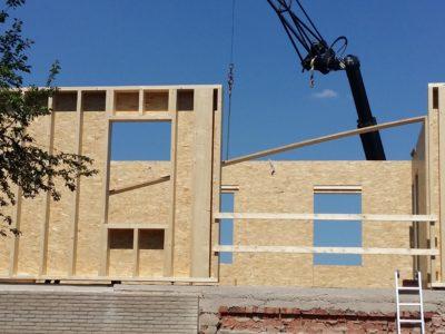 Les avantages de la construction à ossatures en bois